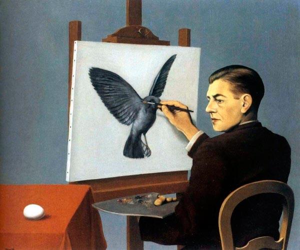 René Magritte - O Surrealismo do Mestre dos Paradoxos Arte & Ilustração arte ilustração fantasia surrealismo Figura do Slideshow #19