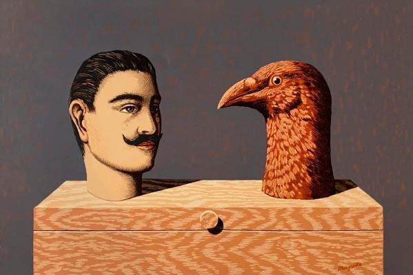 René Magritte - O Surrealismo do Mestre dos Paradoxos Arte & Ilustração arte ilustração fantasia surrealismo Figura do Slideshow #16