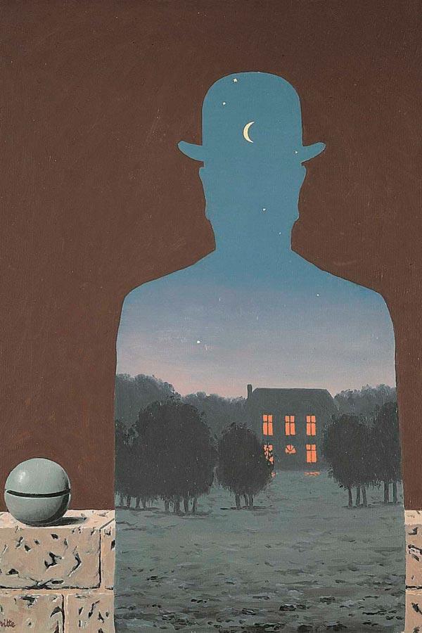René Magritte - O Surrealismo do Mestre dos Paradoxos Arte & Ilustração arte ilustração fantasia surrealismo Figura do Slideshow #15