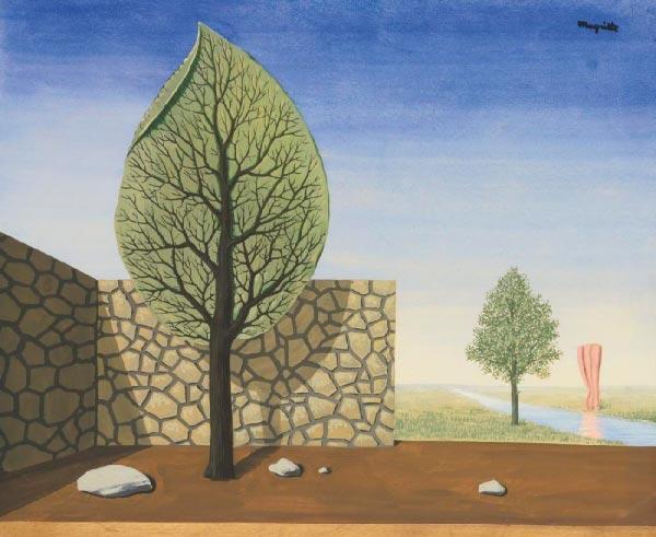 René Magritte - O Surrealismo do Mestre dos Paradoxos Arte & Ilustração arte ilustração fantasia surrealismo Figura do Slideshow #14