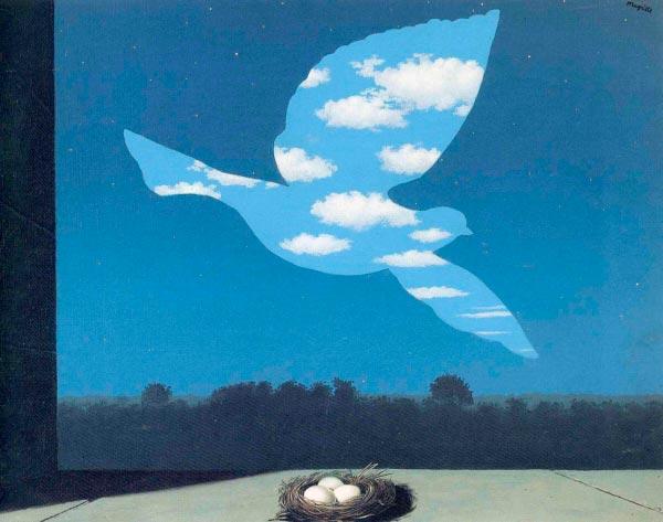 René Magritte - O Surrealismo do Mestre dos Paradoxos Arte & Ilustração arte ilustração fantasia surrealismo Figura do Slideshow #13