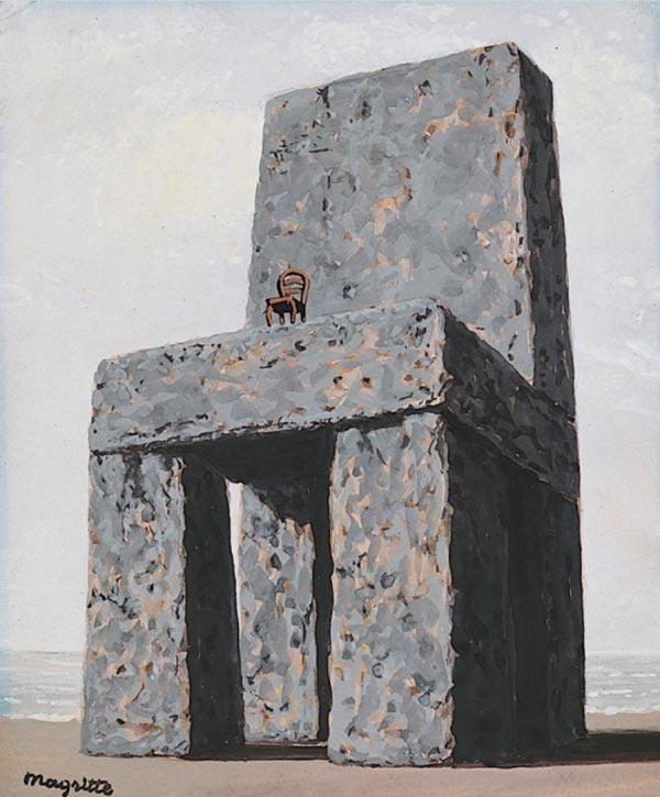 René Magritte - O Surrealismo do Mestre dos Paradoxos Arte & Ilustração arte ilustração fantasia surrealismo Figura do Slideshow #11