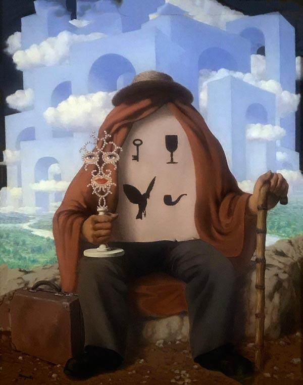 René Magritte - O Surrealismo do Mestre dos Paradoxos Arte & Ilustração arte ilustração fantasia surrealismo Figura do Slideshow #7