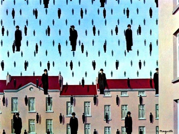 René Magritte - O Surrealismo do Mestre dos Paradoxos Arte & Ilustração arte ilustração fantasia surrealismo Figura do Slideshow #6