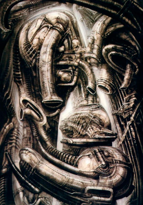 Os Horrores de H.R. Giger - O Inferno Biomecânico dos Pesadelos Arte & Ilustração arte ilustração fantasia cinema sci-fi horror surrealismo Figura do Slideshow #51