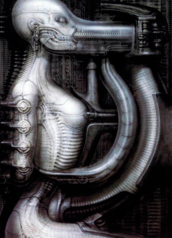 Os Horrores de H.R. Giger - O Inferno Biomecânico dos Pesadelos Arte & Ilustração arte ilustração fantasia cinema sci-fi horror surrealismo Figura do Slideshow #50