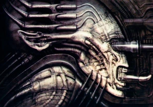 Os Horrores de H.R. Giger - O Inferno Biomecânico dos Pesadelos Arte & Ilustração arte ilustração fantasia cinema sci-fi horror surrealismo Figura do Slideshow #49