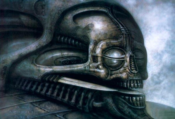 Os Horrores de H.R. Giger - O Inferno Biomecânico dos Pesadelos Arte & Ilustração arte ilustração fantasia cinema sci-fi horror surrealismo Figura do Slideshow #9