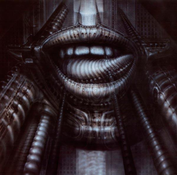 Os Horrores de H.R. Giger - O Inferno Biomecânico dos Pesadelos Arte & Ilustração arte ilustração fantasia cinema sci-fi horror surrealismo Figura do Slideshow #48