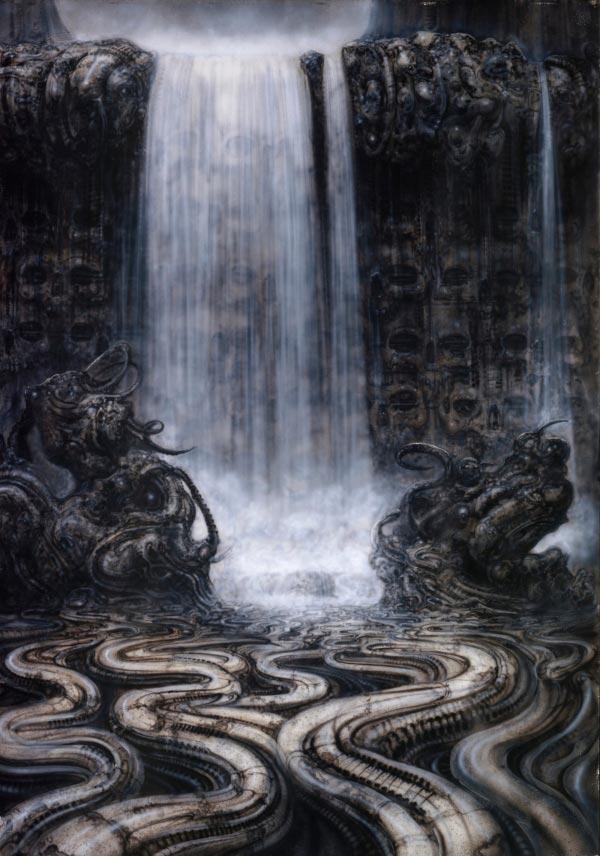 Os Horrores de H.R. Giger - O Inferno Biomecânico dos Pesadelos Arte & Ilustração arte ilustração fantasia cinema sci-fi horror surrealismo Figura do Slideshow #45
