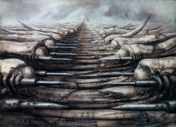 Os Horrores de H.R. Giger - O Inferno Biomecânico dos Pesadelos Arte & Ilustração arte ilustração fantasia cinema sci-fi horror surrealismo Figura do Slideshow #44