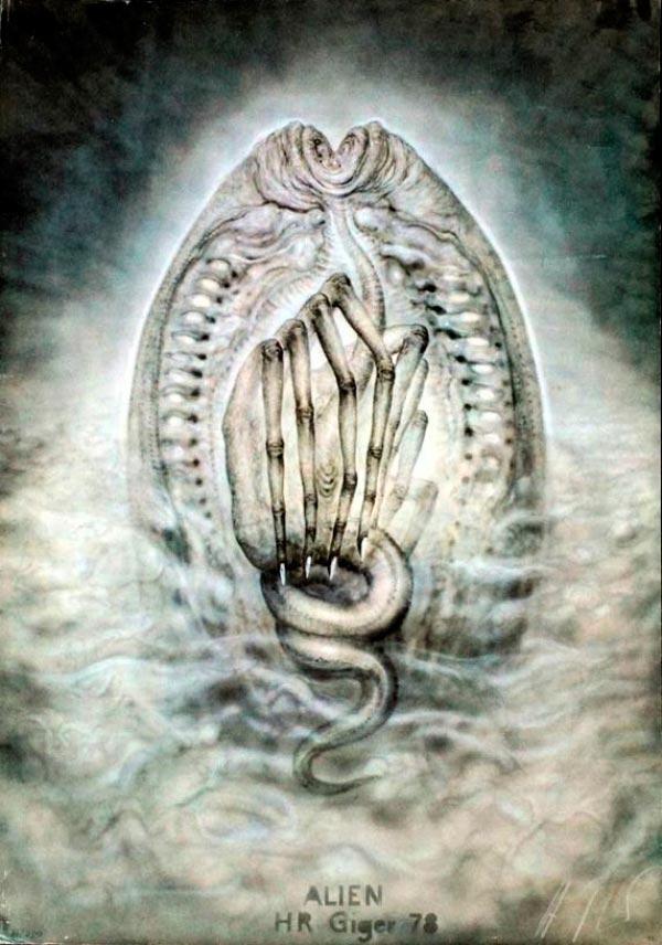 Os Horrores de H.R. Giger - O Inferno Biomecânico dos Pesadelos Arte & Ilustração arte ilustração fantasia cinema sci-fi horror surrealismo Figura do Slideshow #43