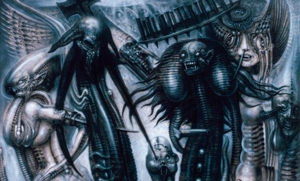Os Horrores de H.R. Giger - O Inferno Biomecânico dos Pesadelos Arte & Ilustração arte ilustração fantasia cinema sci-fi horror surrealismo Figura do Slideshow #42