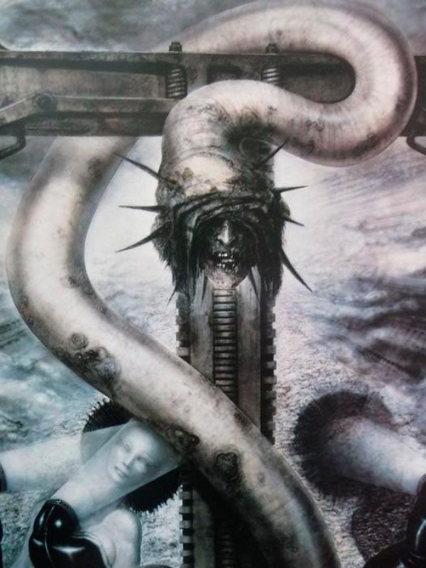Os Horrores de H.R. Giger - O Inferno Biomecânico dos Pesadelos Arte & Ilustração arte ilustração fantasia cinema sci-fi horror surrealismo Figura do Slideshow #41