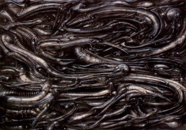 Os Horrores de H.R. Giger - O Inferno Biomecânico dos Pesadelos Arte & Ilustração arte ilustração fantasia cinema sci-fi horror surrealismo Figura do Slideshow #40