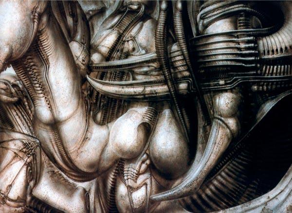 Os Horrores de H.R. Giger - O Inferno Biomecânico dos Pesadelos Arte & Ilustração arte ilustração fantasia cinema sci-fi horror surrealismo Figura do Slideshow #38