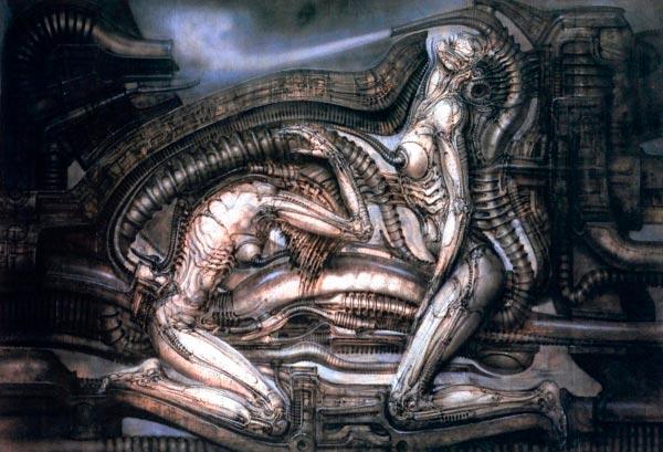 Os Horrores de H.R. Giger - O Inferno Biomecânico dos Pesadelos Arte & Ilustração arte ilustração fantasia cinema sci-fi horror surrealismo Figura do Slideshow #35