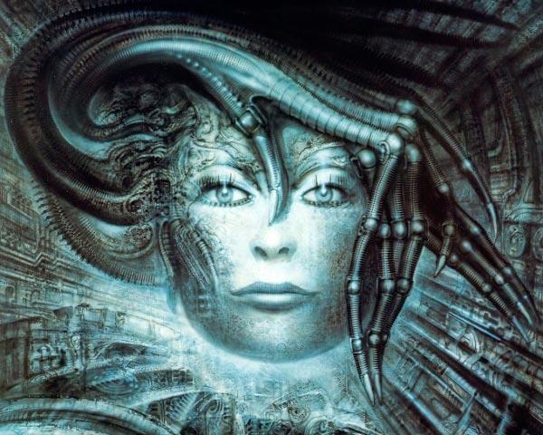 Os Horrores de H.R. Giger - O Inferno Biomecânico dos Pesadelos Arte & Ilustração arte ilustração fantasia cinema sci-fi horror surrealismo Figura do Slideshow #34