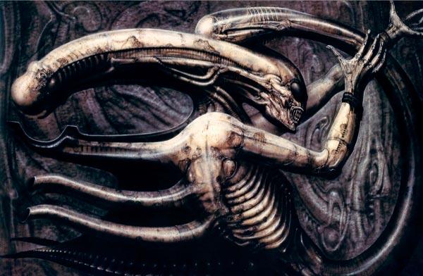 Os Horrores de H.R. Giger - O Inferno Biomecânico dos Pesadelos Arte & Ilustração arte ilustração fantasia cinema sci-fi horror surrealismo Figura do Slideshow #30