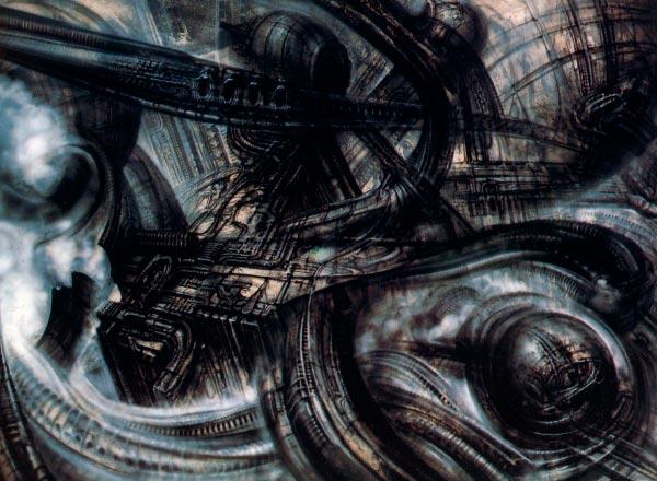 Os Horrores de H.R. Giger - O Inferno Biomecânico dos Pesadelos Arte & Ilustração arte ilustração fantasia cinema sci-fi horror surrealismo Figura do Slideshow #28