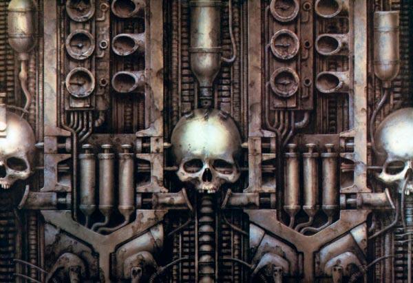 Os Horrores de H.R. Giger - O Inferno Biomecânico dos Pesadelos Arte & Ilustração arte ilustração fantasia cinema sci-fi horror surrealismo Figura do Slideshow #27