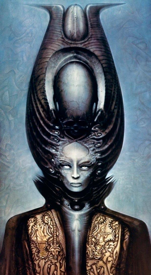 Os Horrores de H.R. Giger - O Inferno Biomecânico dos Pesadelos Arte & Ilustração arte ilustração fantasia cinema sci-fi horror surrealismo Figura do Slideshow #25