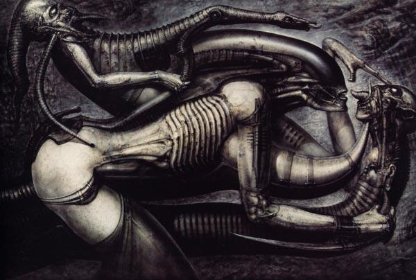 Os Horrores de H.R. Giger - O Inferno Biomecânico dos Pesadelos Arte & Ilustração arte ilustração fantasia cinema sci-fi horror surrealismo Figura do Slideshow #24