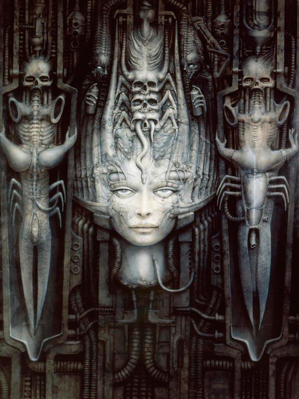 Os Horrores de H.R. Giger - O Inferno Biomecânico dos Pesadelos Arte & Ilustração arte ilustração fantasia cinema sci-fi horror surrealismo Figura do Slideshow #23