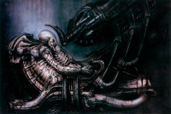 Os Horrores de H.R. Giger - O Inferno Biomecânico dos Pesadelos Arte & Ilustração arte ilustração fantasia cinema sci-fi horror surrealismo Figura do Slideshow #8
