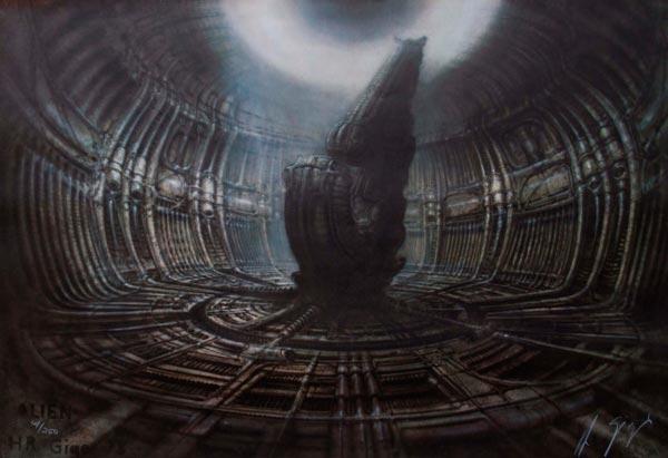 Os Horrores de H.R. Giger - O Inferno Biomecânico dos Pesadelos Arte & Ilustração arte ilustração fantasia cinema sci-fi horror surrealismo Figura do Slideshow #4
