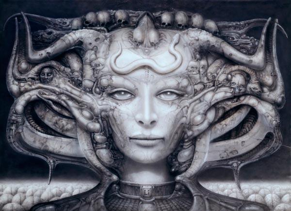 Os Horrores de H.R. Giger - O Inferno Biomecânico dos Pesadelos Arte & Ilustração arte ilustração fantasia cinema sci-fi horror surrealismo Figura do Slideshow #20