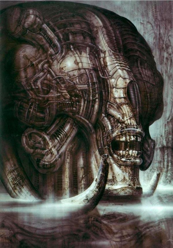 Os Horrores de H.R. Giger - O Inferno Biomecânico dos Pesadelos Arte & Ilustração arte ilustração fantasia cinema sci-fi horror surrealismo Figura do Slideshow #16