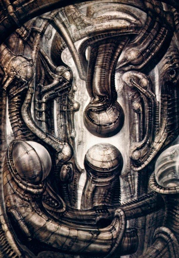 Os Horrores de H.R. Giger - O Inferno Biomecânico dos Pesadelos Arte & Ilustração arte ilustração fantasia cinema sci-fi horror surrealismo Figura do Slideshow #13