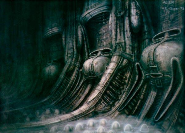 Os Horrores de H.R. Giger - O Inferno Biomecânico dos Pesadelos Arte & Ilustração arte ilustração fantasia cinema sci-fi horror surrealismo Figura do Slideshow #12