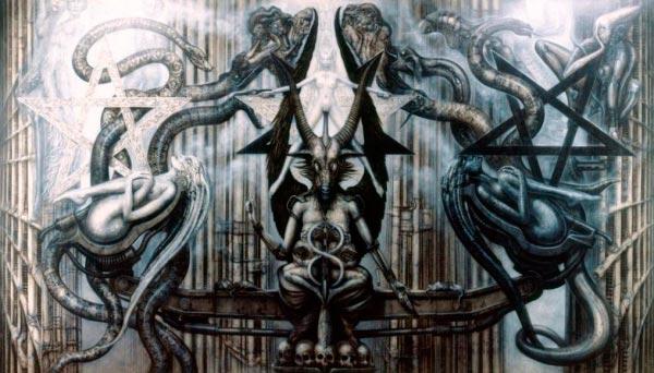 Os Horrores de H.R. Giger - O Inferno Biomecânico dos Pesadelos Arte & Ilustração arte ilustração fantasia cinema sci-fi horror surrealismo Figura do Slideshow #11