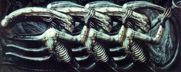 Os Horrores de H.R. Giger - O Inferno Biomecânico dos Pesadelos Arte & Ilustração arte ilustração fantasia cinema sci-fi horror surrealismo Figura do Slideshow #5