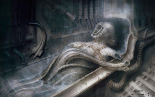 Os Horrores de H.R. Giger - O Inferno Biomecânico dos Pesadelos Arte & Ilustração arte ilustração fantasia cinema sci-fi horror surrealismo Figura do Slideshow #10