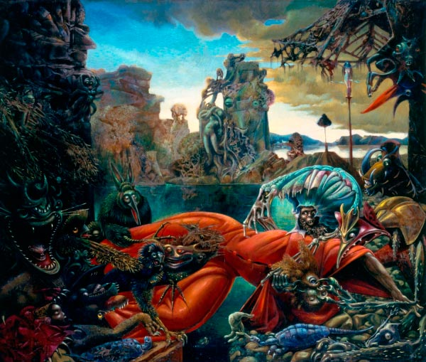 max ernst surrealismo Figura do Slideshow #12
