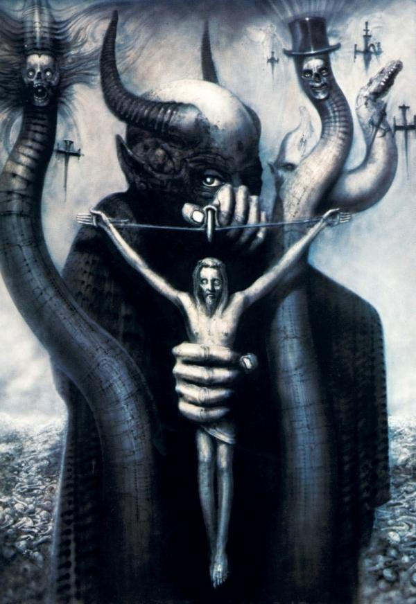 Os Horrores de H.R. Giger - O Inferno Biomecânico dos Pesadelos Arte & Ilustração arte ilustração fantasia cinema sci-fi horror surrealismo Figura do Slideshow #2