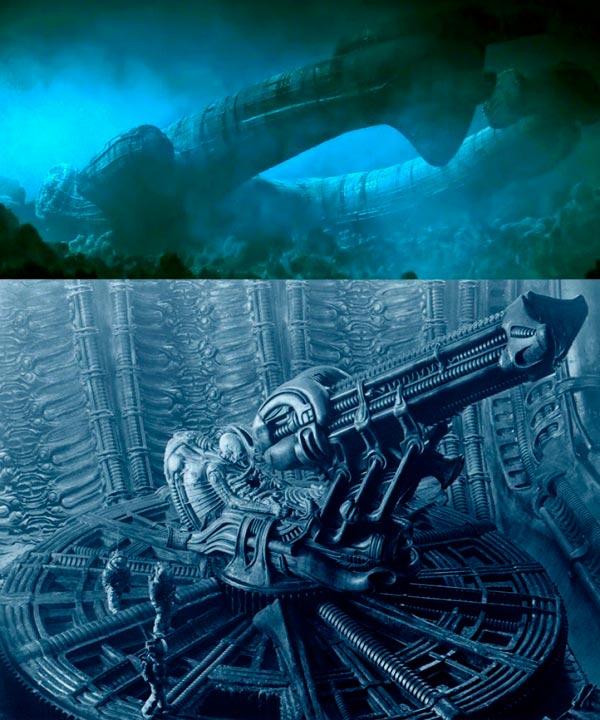 Os Horrores de H.R. Giger - O Inferno Biomecânico dos Pesadelos Arte & Ilustração arte ilustração fantasia cinema sci-fi horror surrealismo Figura do Slideshow #1