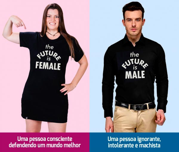 the future is female feminismo Figura do Slideshow #4