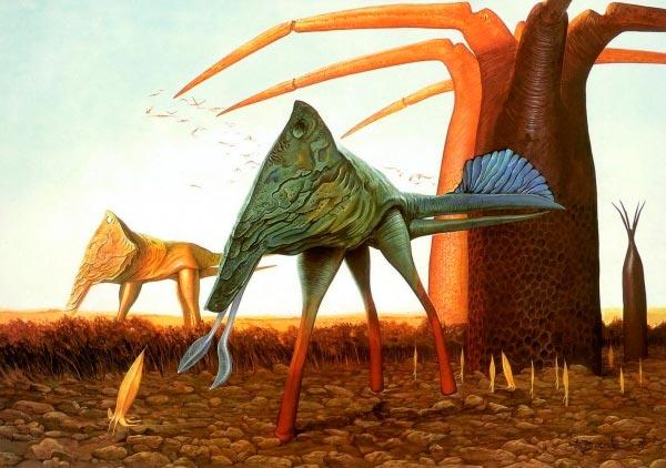 surrealismo wayne barlowe arte fantasia 0 Figura do Slideshow #60