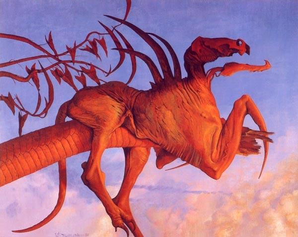 surrealismo wayne barlowe arte fantasia 0 Figura do Slideshow #58