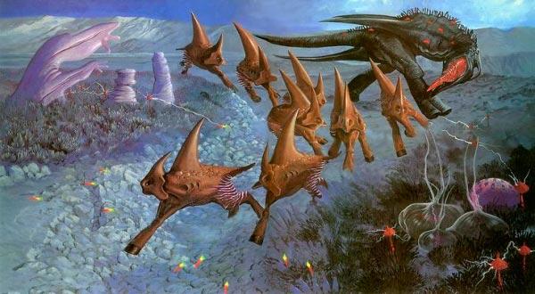 surrealismo wayne barlowe arte fantasia 0 Figura do Slideshow #56