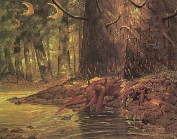 surrealismo wayne barlowe arte fantasia 0 Figura do Slideshow #54