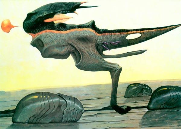 surrealismo wayne barlowe arte fantasia 0 Figura do Slideshow #50