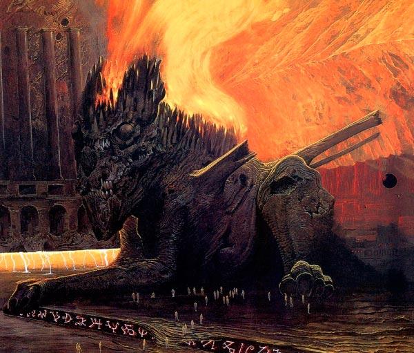 inferno surrealismo arte fantasia wayne barlowe 0 Figura do Slideshow #36