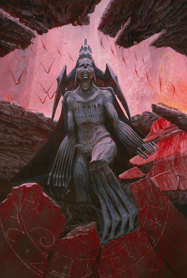 inferno surrealismo arte fantasia wayne barlowe 0 Figura do Slideshow #5