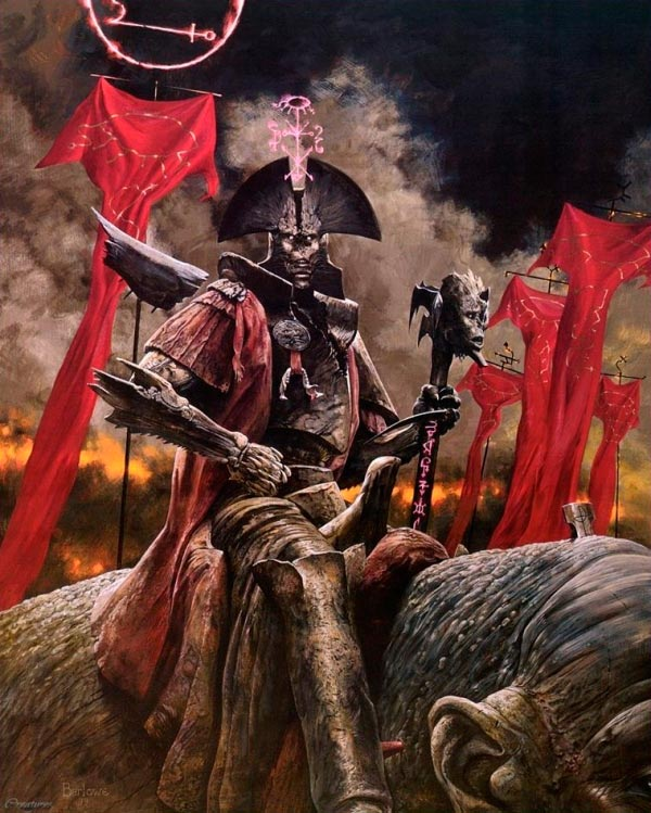 inferno surrealismo arte fantasia wayne barlowe 0 Figura do Slideshow #35