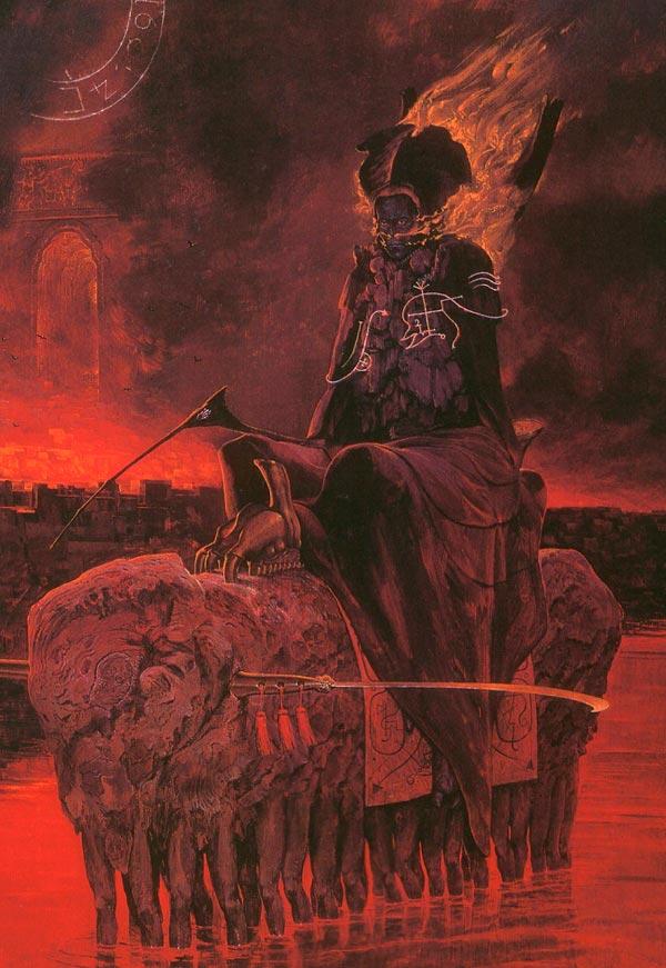 inferno surrealismo arte fantasia wayne barlowe 0 Figura do Slideshow #39